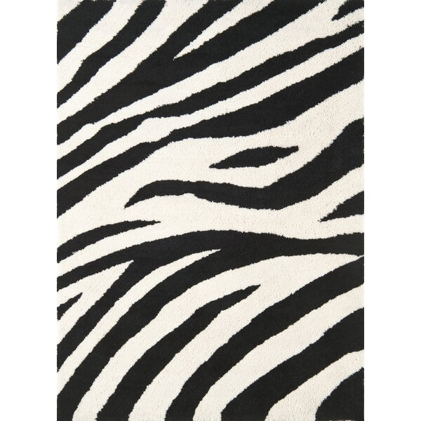 Cloud Ivory / Black Area Rug by Continental Rug Company