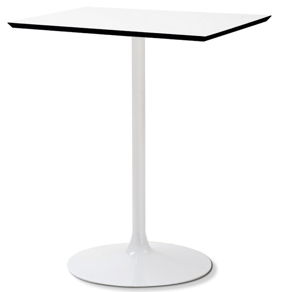 Crown  Extendable High Pressure Laminate Dining Table by Domitalia