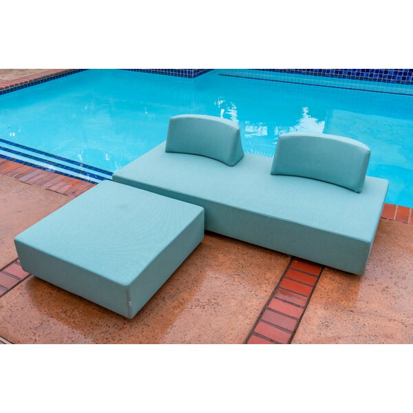 Merkley Outdoor 4 Piece Seating Group with Cushions by Latitude Run Latitude Run