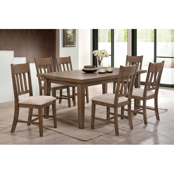 Seymour 7 Piece Dining Set by Loon Peak