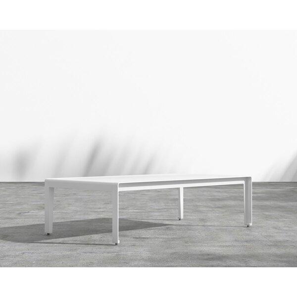 Cochran Aluminum Coffee Table by Brayden Studio