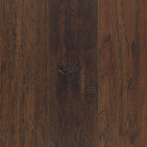 Westland 5 Engineered Hickory Hardwood Flooring in Mocha by Mohawk Flooring
