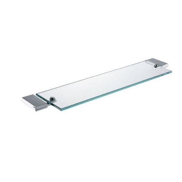 DeBennett Glass Wall Shelf by Orren Ellis