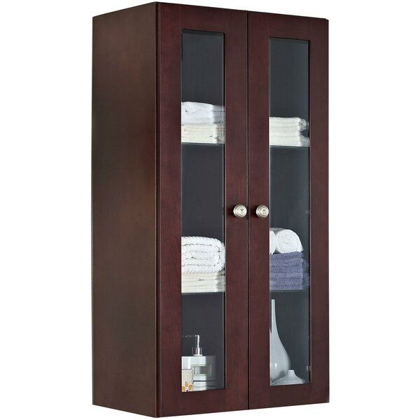 Rosemont Transitional Birch Wood Curio Cabinet by Winston Porter