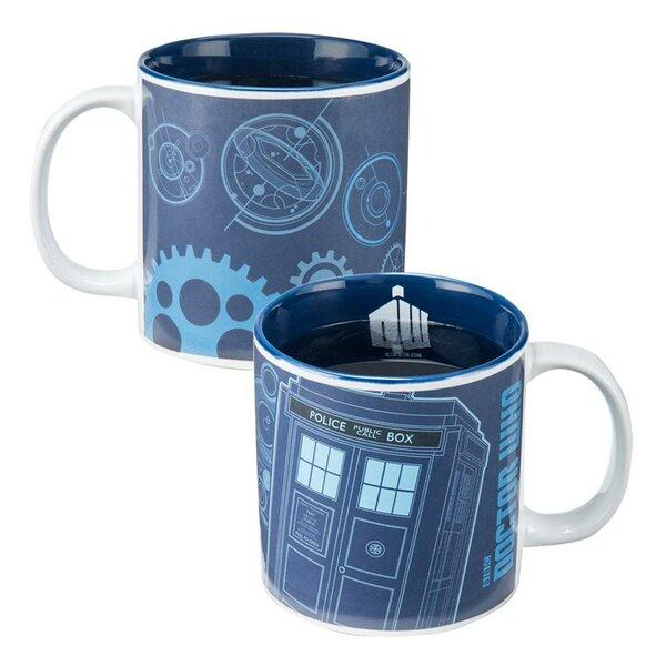 Doctor Who 20 oz. Heat Reactive Coffee Mug by Vandor LLC