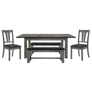 Okamoto 5 Piece Dining Set By Loon Peak