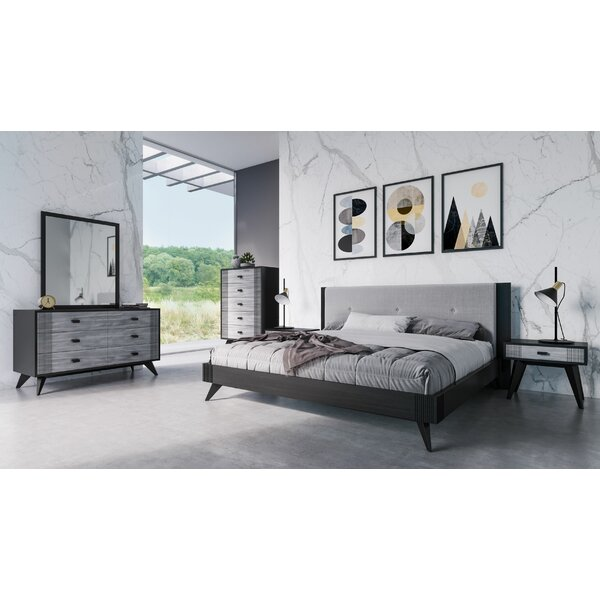 Modern  Donham Platform 5 Piece Bedroom Set By Ivy Bronx Sale