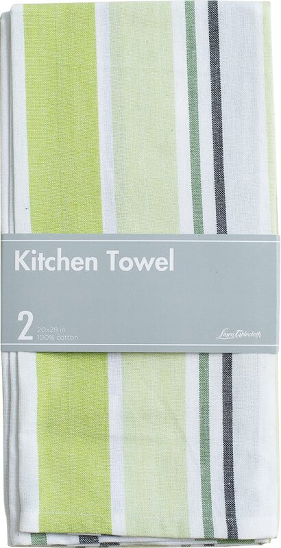 Cotton Kitchen Towel With Hanging Loop