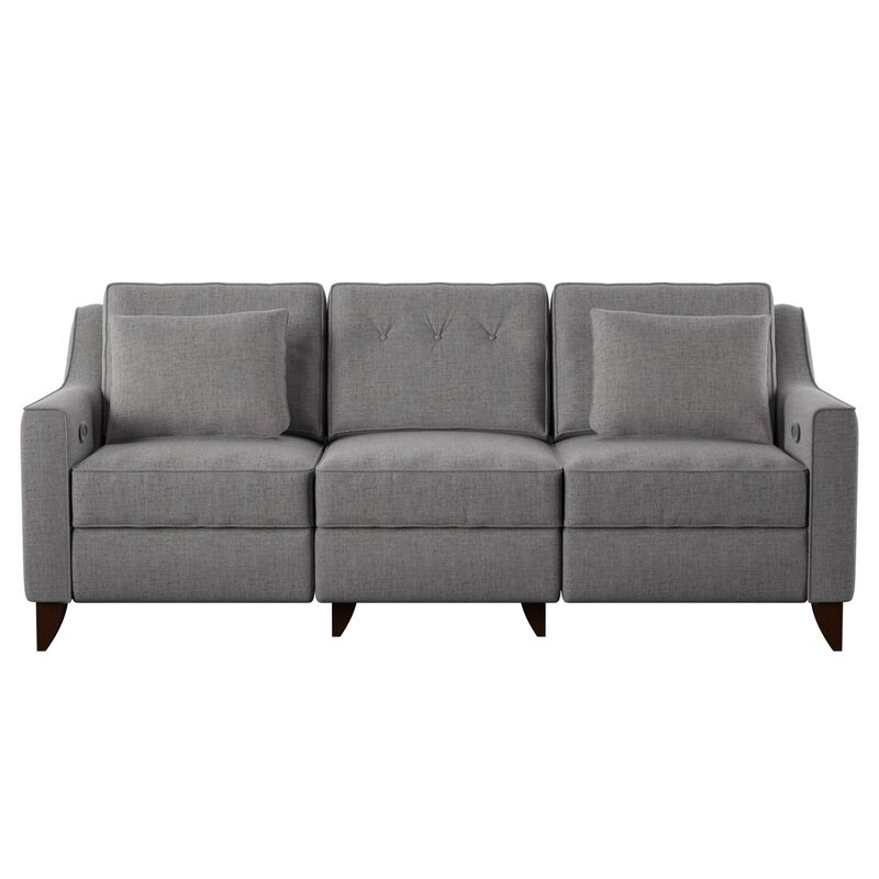 Pick the best logan reclining sofa by wayfair custom for Jordan linen modern living room sofa