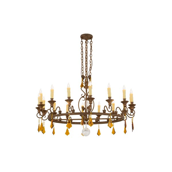16 - Light Candle Style Classic / Traditional Chandelier by Astoria Grand Astoria Grand