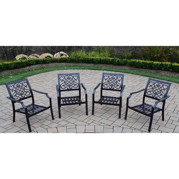 Stackable Deep Seating Chat Chair (Set of 4) by Oakland Living