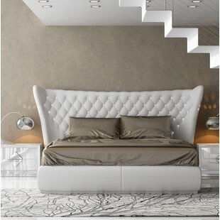 Knorr Upholstered Panel Bed by Everly Quinn
