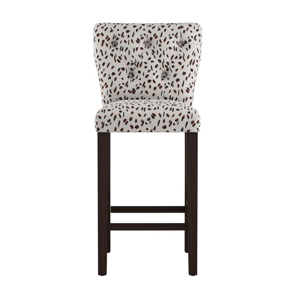 Grays Ferry Tufted 31 Bar Stool by Wrought Studio