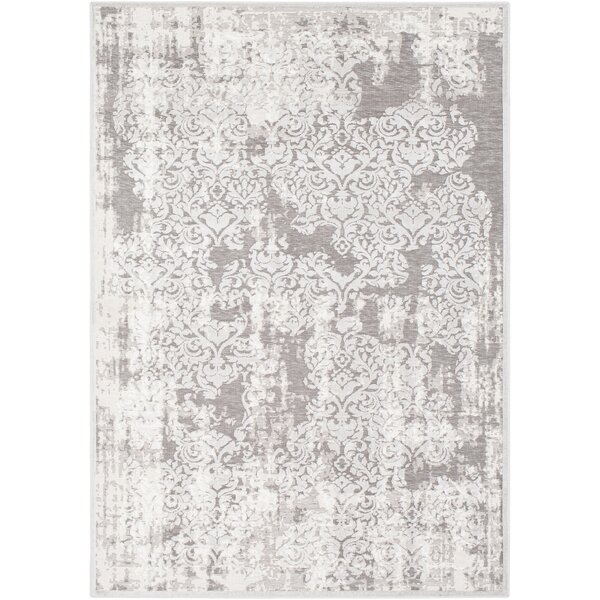 Svendborg Gray Area Rug by Bungalow Rose