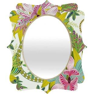 Deny Designs Sabine Reinhart Life is Music Wall Mirror