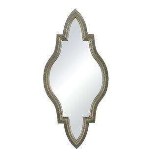 One Allium Way Antique Wash Metal Wall Mirror