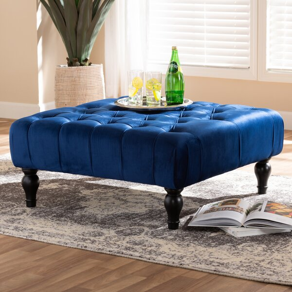 Caples Tufted Cocktail Ottoman by House of Hampton