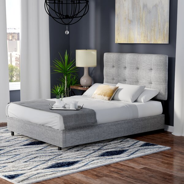 Gerdes Upholstered Standard Bed by Brayden Studio