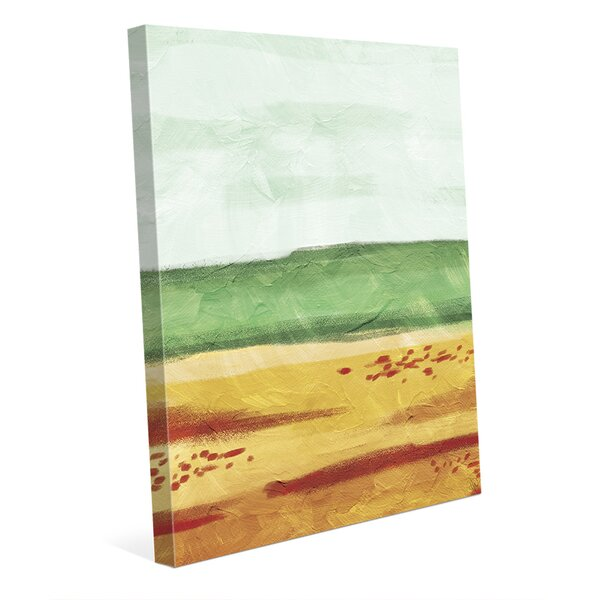 The Sand Painting Print on Wrapped Canvas by Click Wall Art