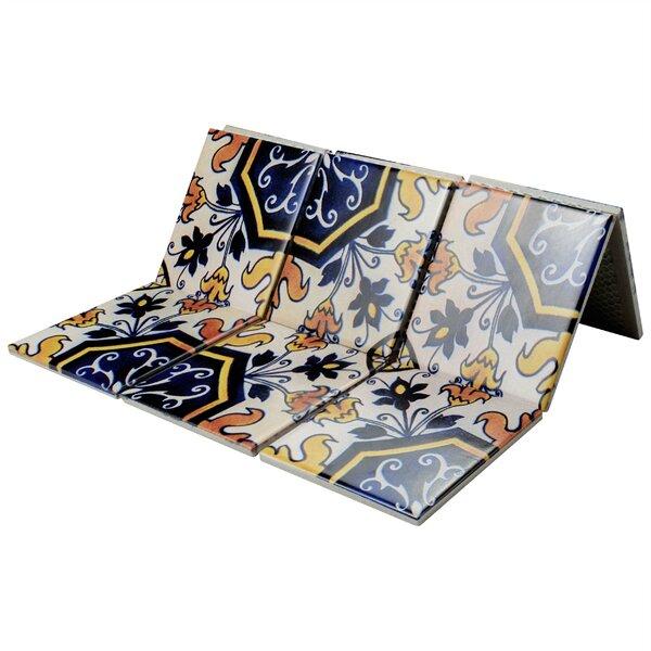 Melody Queen 3.83 x 3.83 Porcelain Mosaic Tile in Delias by EliteTile