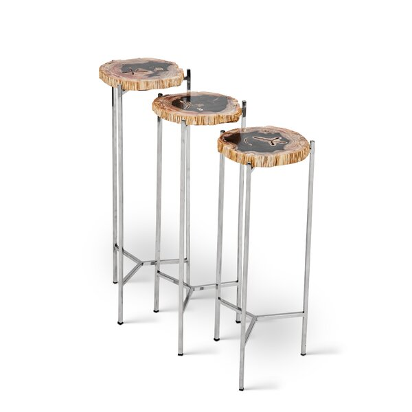 Kailey Trezi 3 Piece Nesting Tables by Union Rustic