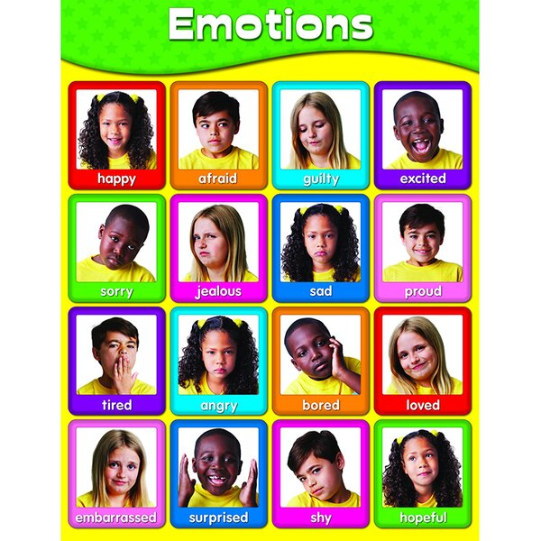 Emotions Chart by Frank Schaffer Publications/Carson Dellosa Publications