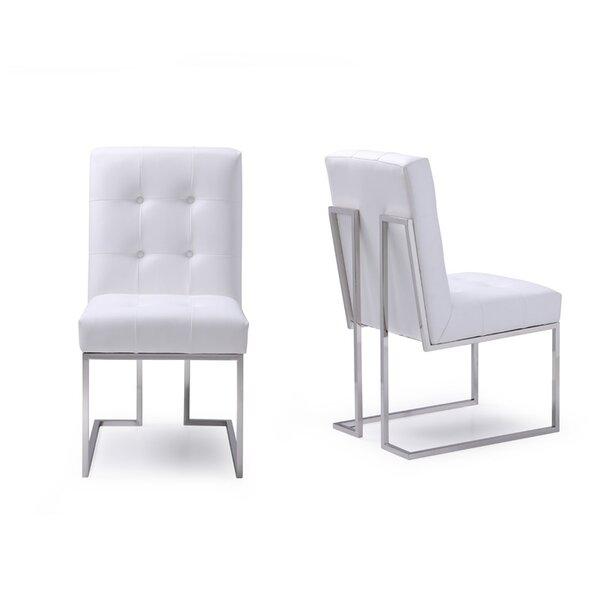 Hundt Upholstered Dining Chair (Set of 2) by Orren Ellis
