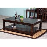 Mccree Solid Wood Coffee Table with Storage by Loon Peak®