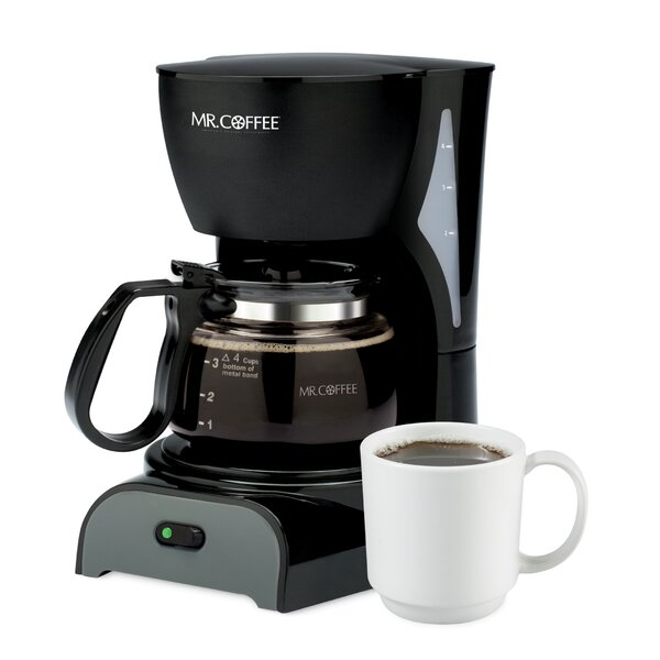 Simple Brew 4-Cup Switch Coffee Maker by Mr. Coffee