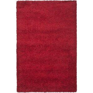 Rowen Handmade Red Area Rug