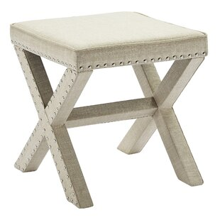Best Reviews Yaeger Vanity Stool By Winston Porter
