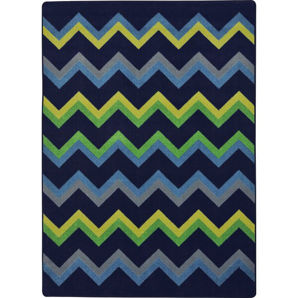 Navy Area Rug by The Conestoga Trading Co.