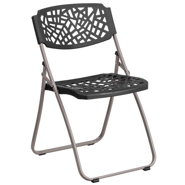 Laduke Metal Folding Chair by Symple Stuff
