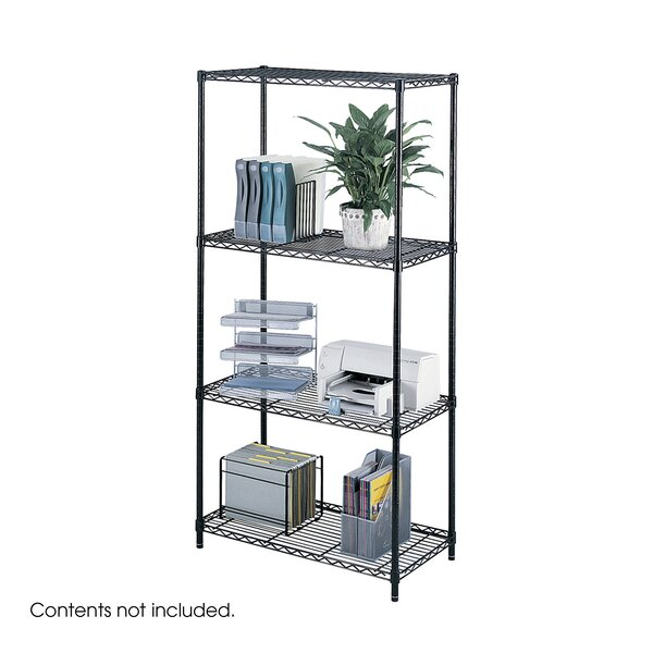 Industrial Wire 3 Shelf Shelving Unit Starter by Safco Products Company