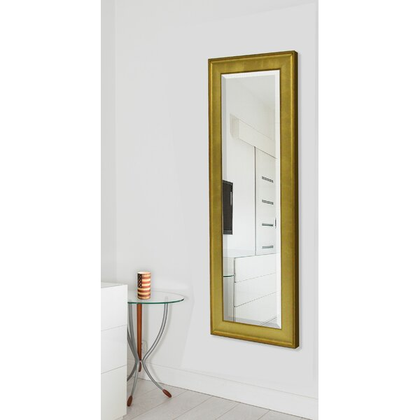 Dalessio Vintage Gold Floor/Wall Mirror by Wrought Studio