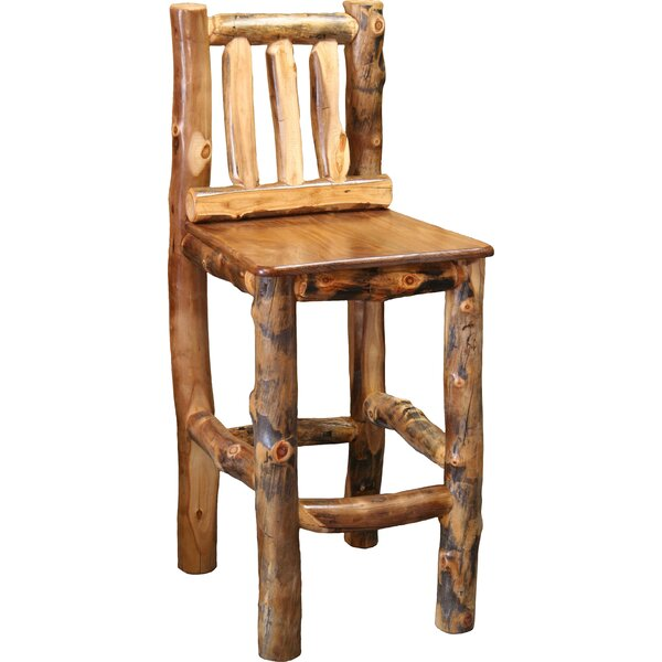 Amias 24 Bar Stool by Millwood Pines