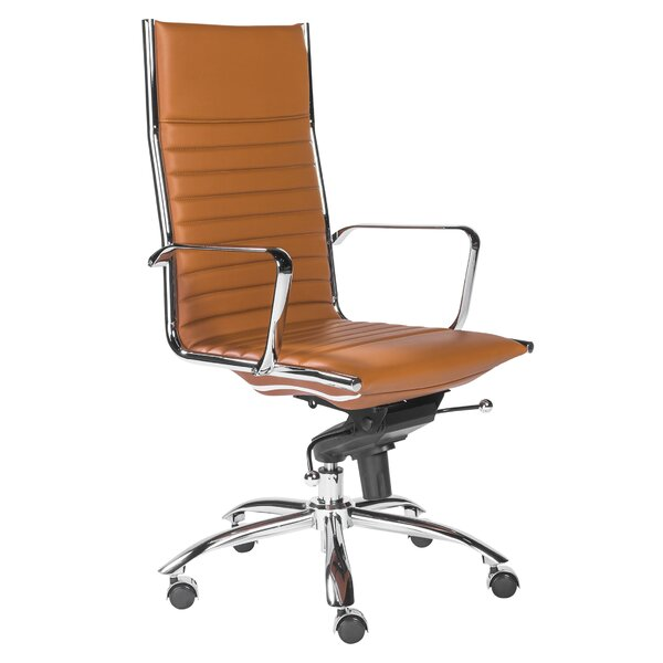 Westernport High Back Bungee Office Chair by Wade Logan