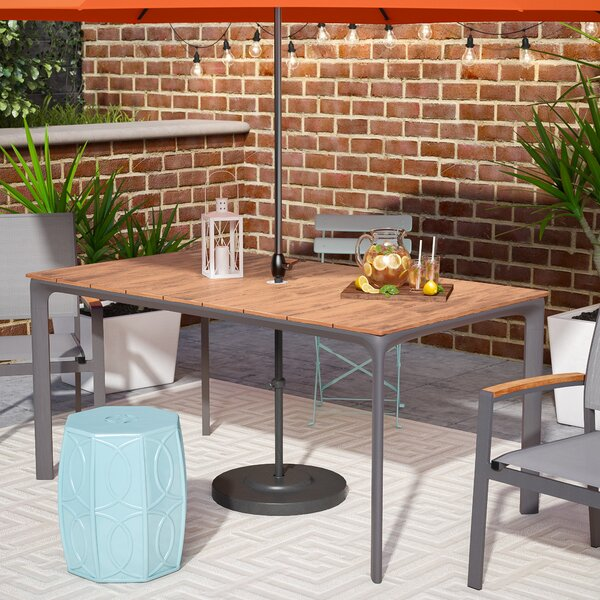 Krystal Contemporary Dining Table by Brayden Studio