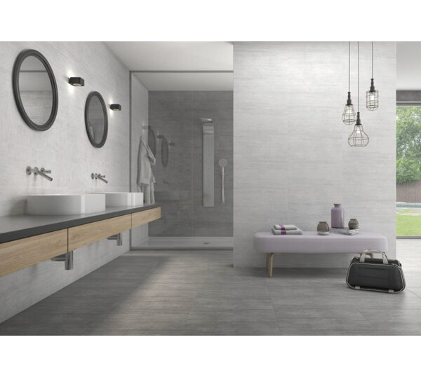 Atrium Moon 12 x 24 Porcelain Field Tile in Marengo by QDI Surfaces