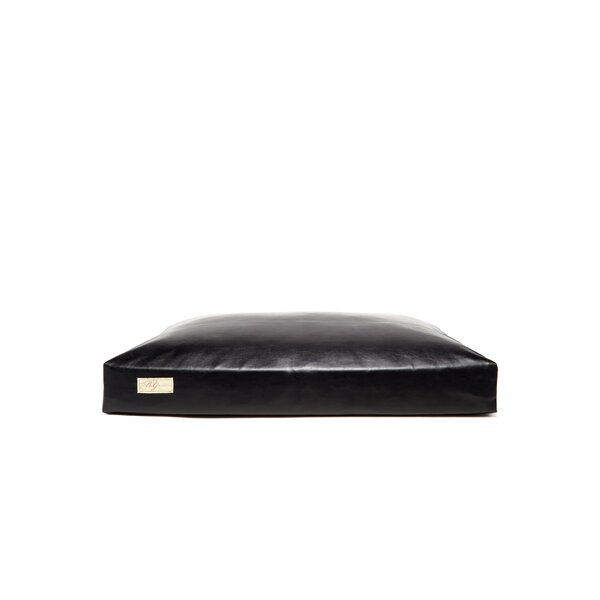 Faux Leather and Faux Down Cushion Dog Bed by B&G Martin