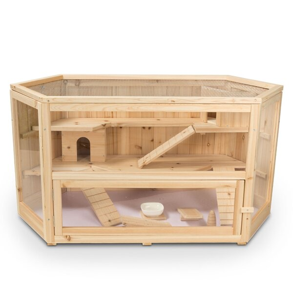Axtell Deluxe Hamster/Gerbil, Mouse, Rat Cage by Tucker Murphy Pet