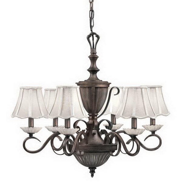 Canby 6-Light Shaded Classic / Traditional Chandelier by Alcott Hill Alcott Hill