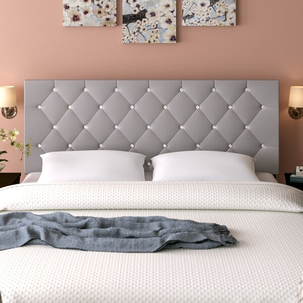 Comeaux Upholstered Panel Headboard by Mercer41