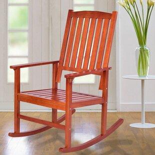 Holguin Wood Rocking Chair (Set of 2) August Grove