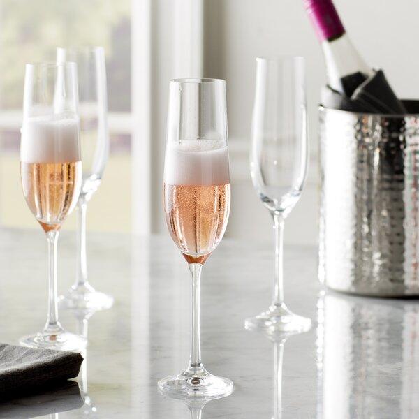 Steiger 6 5 Oz Champagne Glass Set Of 12 By Red Barrel Studio.