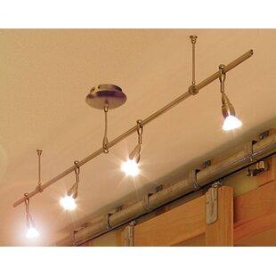Monorail 4 Light Straight Track Kit By Lbl Lighting