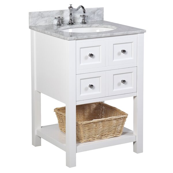 New Yorker 24 Single Bathroom Vanity Set by Kitchen Bath Collection