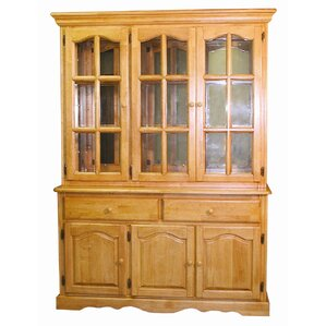 Sunset Selections Dining Lighted China Cabinet by Sunset Trading