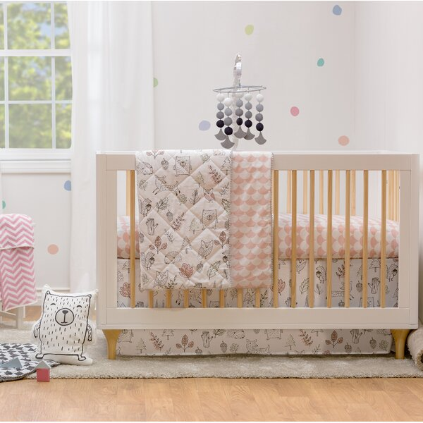 Kayden 4pc Crib Bedding Set - Woodlands by Lolli L