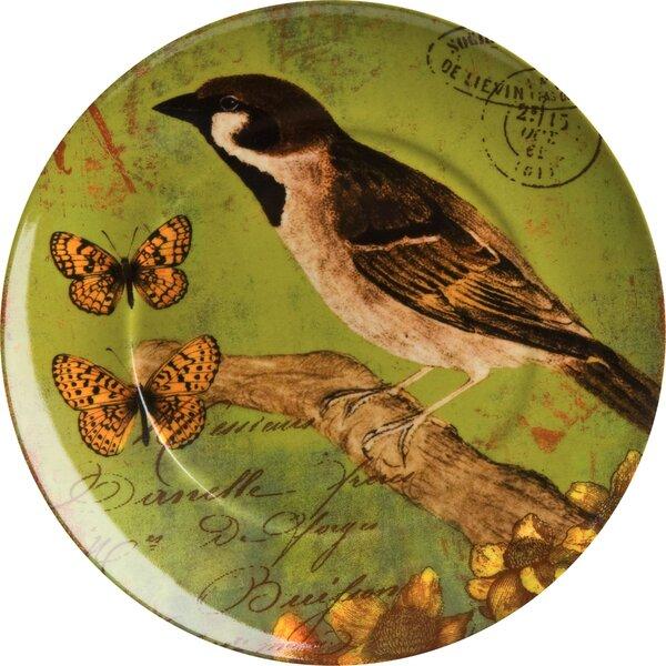 Accents Nature Bird 8 Dessert Plate (Set of 4) by Waechtersbach